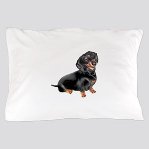 Black-Tan Dachshund Pillow Case